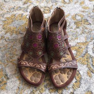 Elite by Corky's gladiator sandal